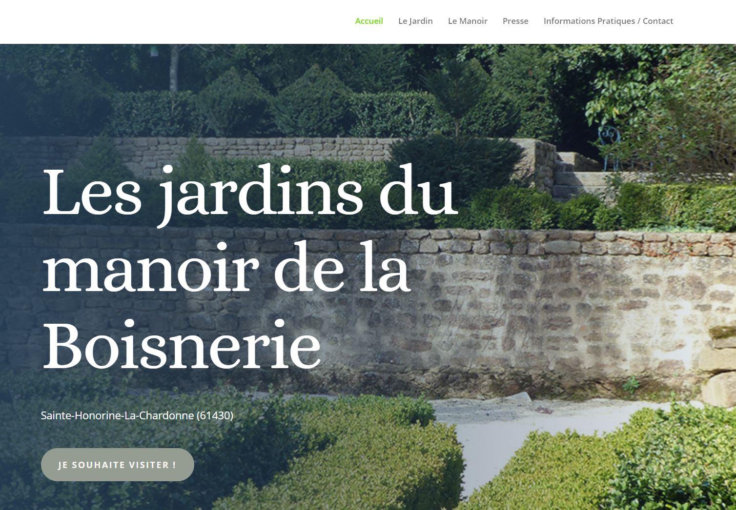 Les Jardins du Manoir de La Boiserie